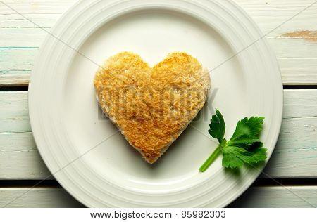 Heart Toast