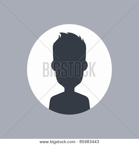 unknown male silhouette