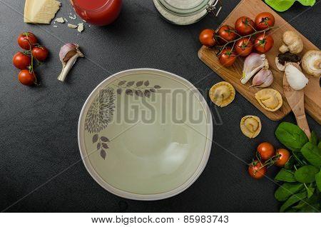 Homemade Big Tortellini