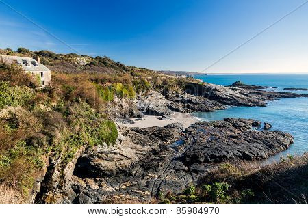 Prussia Cove Cornwall England