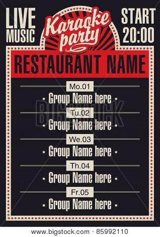 karaoke music restaurant