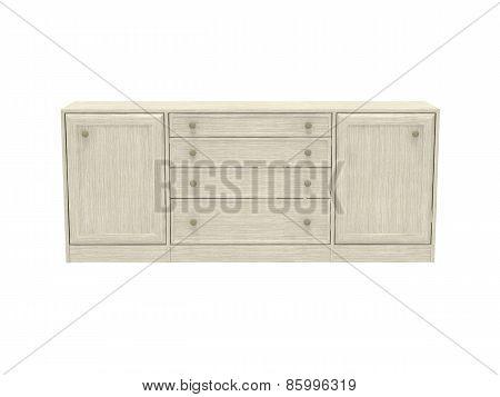 Wood Cupboard