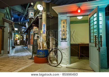 Restaurants in Basement of Umeda Sky Building in Osaka