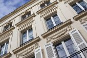 picture of bordeaux  - Facade of a French building in Bordeaux France - JPG