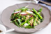 pic of rocket salad  - Quinoa with Asparagus - JPG