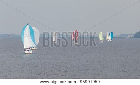 Beautiful Sailboats Sailing