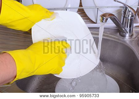 Washing Dish