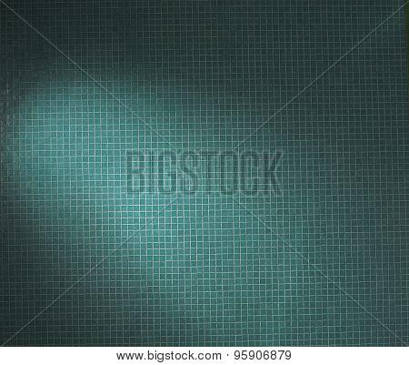 texture blue tile
