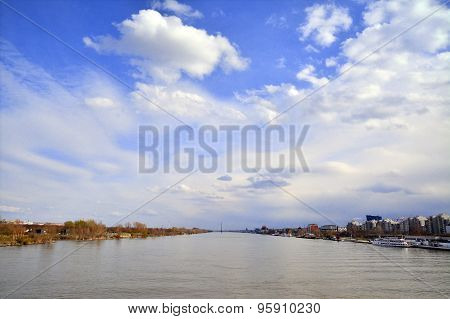 The Danube In Vienna