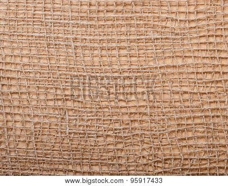 Jute Texture Background