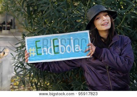 End Ebola Poster