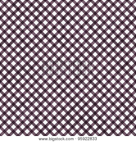 Dark Pink Gingham Pattern Repeat Background