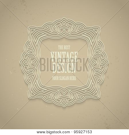 Retor luxury Logos template for Business sign