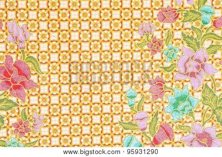 The Beautiful Of Art Malaysian Batik Pattern
