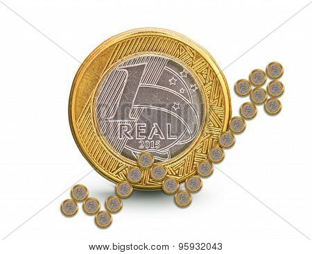 Brazilian Real Growth Coin