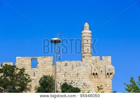 The Round Tower Of King David