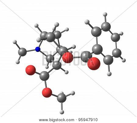 Cocaine is a tropane alkaloid that is obtained from the leaves of the coca plant