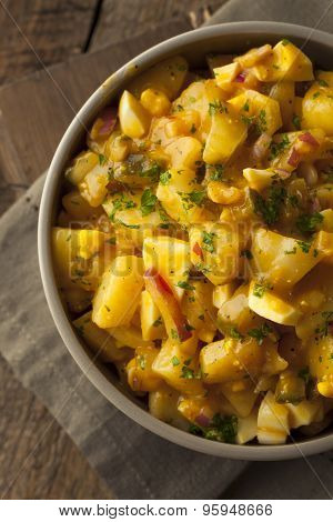 Barbecue Sauce Potato Salad