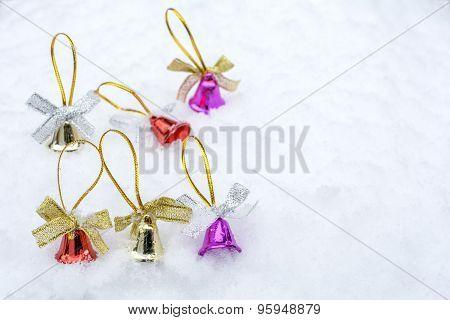 Bells on a snow