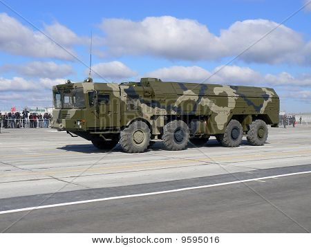 "Russian operative-tactical missile system ""Iskander"""
