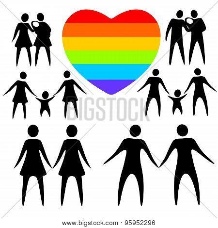 Gay Family Set