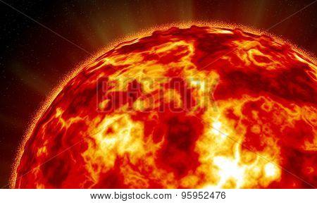 Explosive Sun