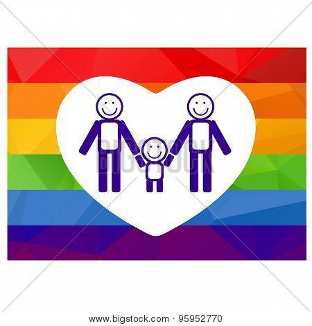 Gay Family Symbol
