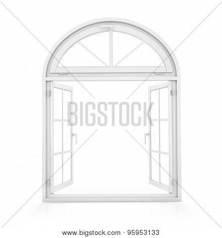 Open Window To The Backyard