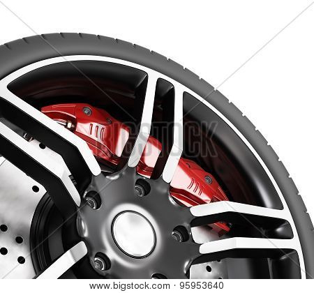 Super Car Disc-brake.