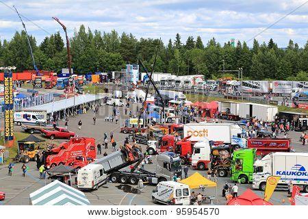 Tawastia Truck Weekend 2015, General View