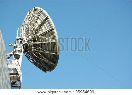 Satellite Dish With Space For Copy