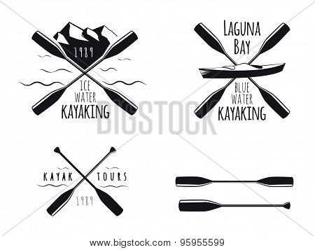 Kayak emblems