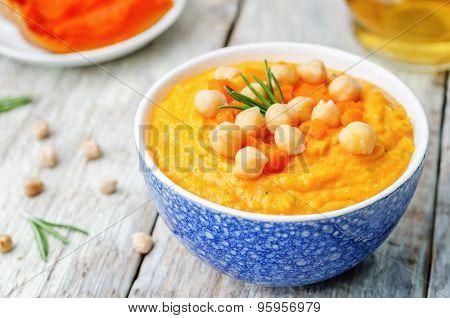 Pumpkin Rosemary Hummus