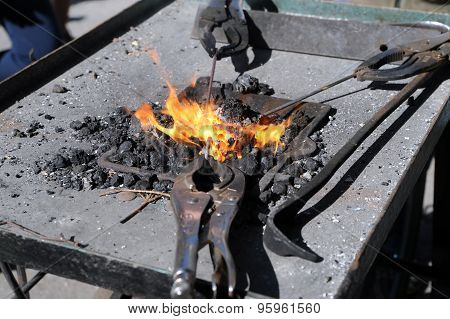 Blacksmiths Fire