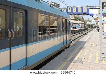Metro Train Cairo