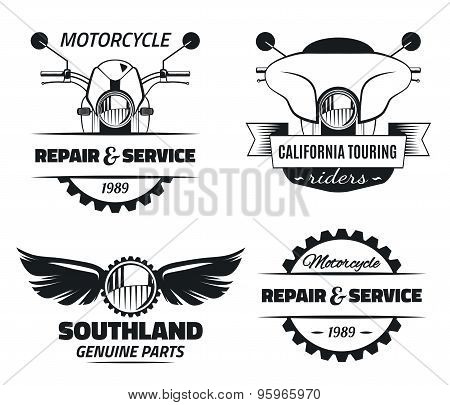 Bike club & service emblems
