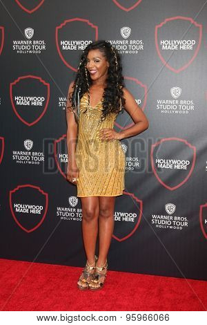 LOS ANGELES - JUL 14:  Dawn Richard at the Warner Bros. Studio Tour Hollywood Expansion Official Unveiling, Stage 48: Script To Screen at the Warner Brothers Studio on July 14, 2015 in Burbank, CA