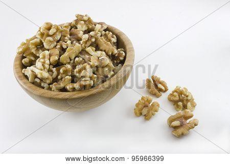 Bowl full of walnuts
