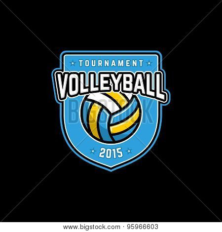 Volleyballbadge