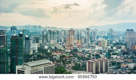 Kuala Lumpur Panoramic View