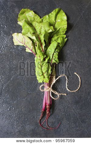 Fresh Chard On The Table