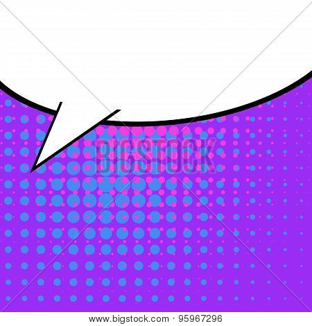 Abstract Creative concept vector comics pop art style blank layout template with clouds beams and is
