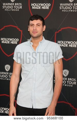 LOS ANGELES - JUL 14:  Alx James at the Warner Bros. Studio Tour Hollywood Expansion Official Unveiling, Stage 48: Script To Screen at the Warner Brothers Studio on July 14, 2015 in Burbank, CA