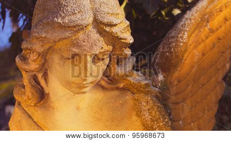 Sculpture Of An Angel