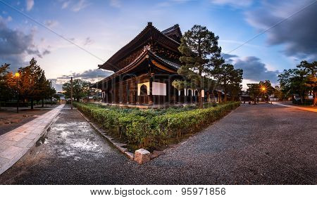 Kenninji Temple In The Evening, The Oldest Zen Temple In Kyoto, Japan