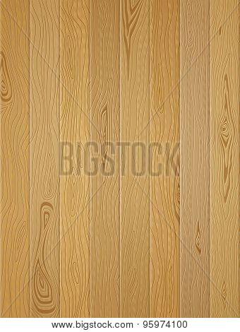 Vertical Planks With Wood Texture