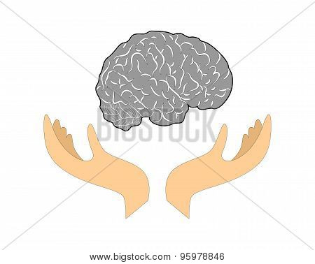 brain and hands