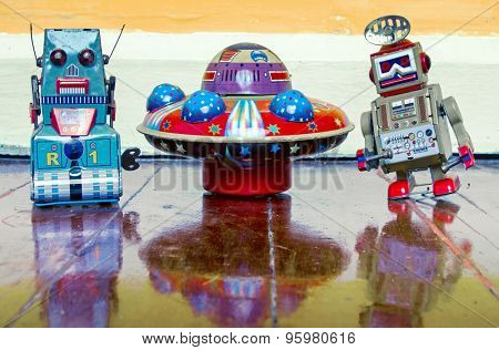 ufo and Robot toys