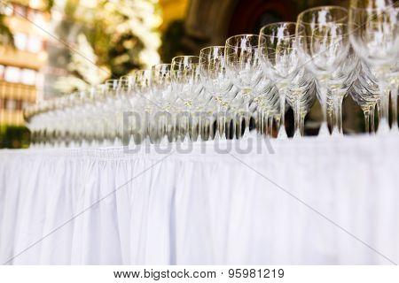 Several Wine Glasses
