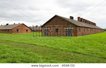 Auschwitz-Birkenau Concentration Camp Near Krakow, Poland